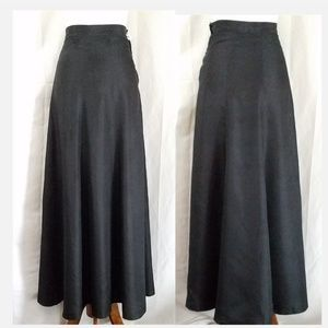 1930's VTG A-Line Maxi Skirt, Needs Repair, XS